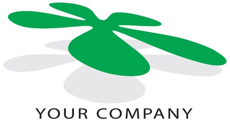 eco logo: logo to your company or enviroment project
