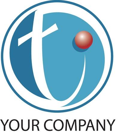 alphabetical letters: Logotipo de la tecnolog�a t