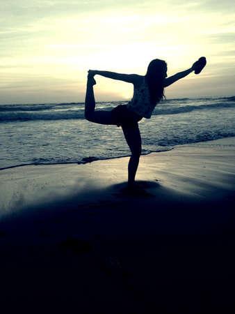 buen vivir: Vivir la buena vida en la playa.