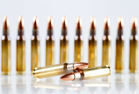 Hunting cartridges of caliber 308 Win