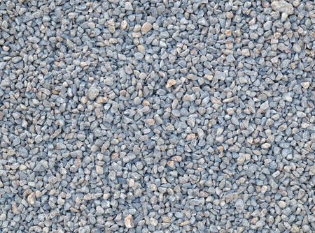 crushed stone texture and background Stock Photo