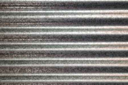 galvanized: zinc galvanized corrugated metal texture horizontal and background