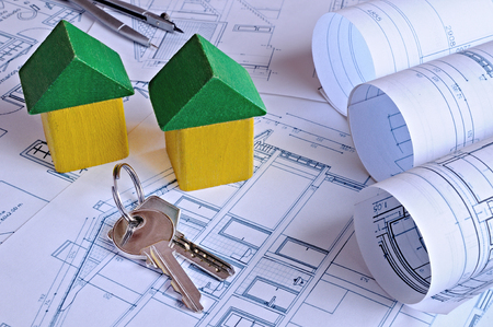 housing project: Concept of a new housing project