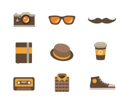 moleskin: Hipster Icon Set