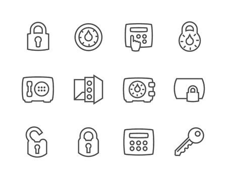 locksmith: Outline Keys and Locks Icons