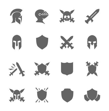 Icônes de guerre Banque d'images - 31777604