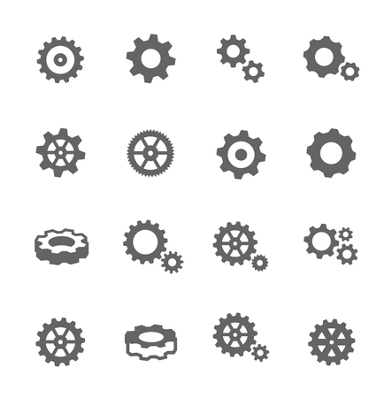 transference: Gear Icons