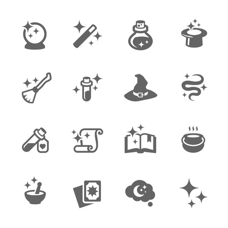 Magic Icons Vectores