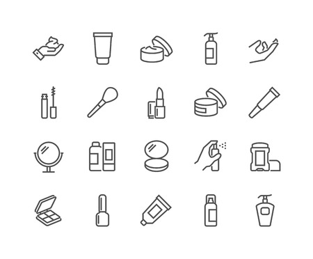 Line Cosmetics Icons