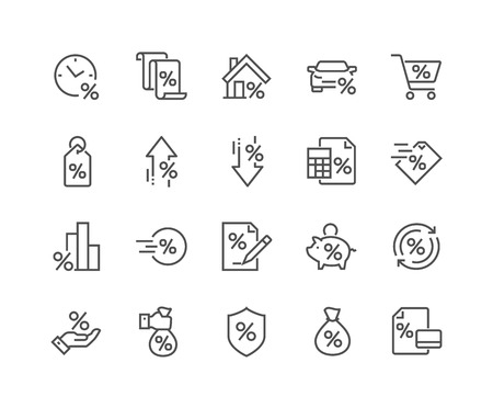 Line Loan Icons