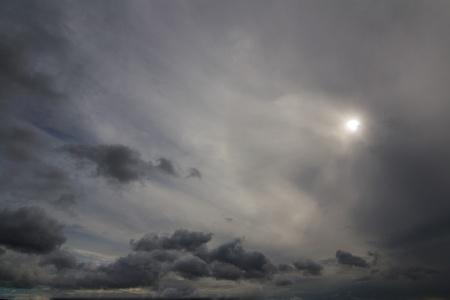 Cloudy Sun Imagens