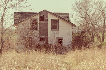 Homestead Stock Photo