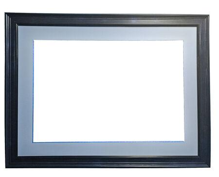 Frame close up on white  Banco de Imagens