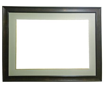 Frame on white