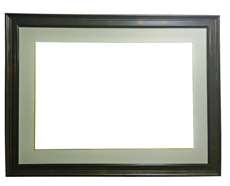 memento: Frame on white