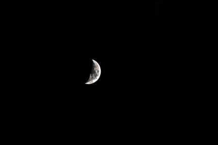 cavities: Moon Stock Photo