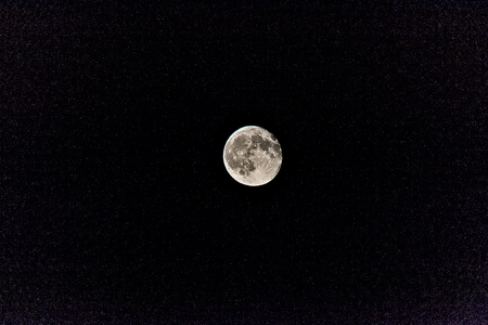 flicker: Moon and Stars in the sky