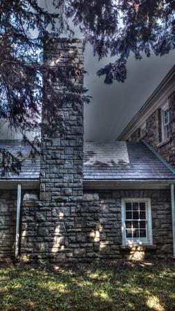 homestead: Homestead chimney