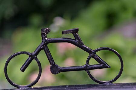 paddle wheel: Decorative bike