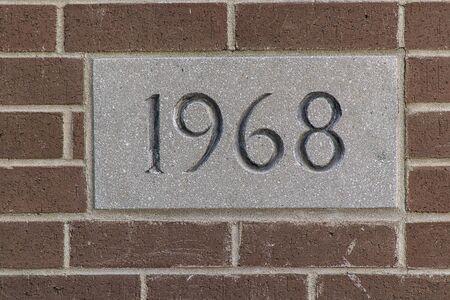 cornerstone: Date Stock Photo