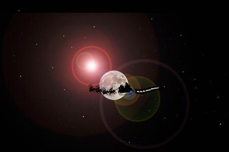 santaclause: Santa Flying