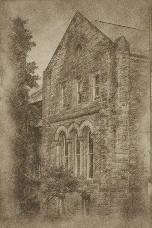 Old picture of old building