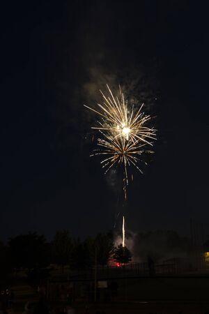 Chinese New year,  Fireworks Stock Photo