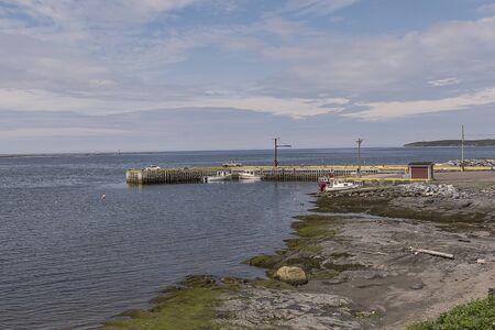 Coastal Village Banque d'images - 131488956