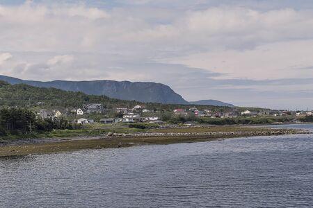Coastal Village Banque d'images - 131488200