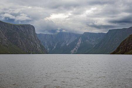 gros morne national park Banque d'images - 132259466