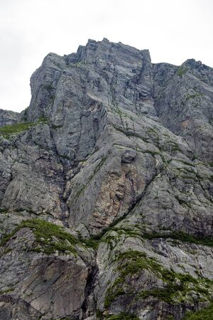 Face in Mountain Banque d'images - 132259465