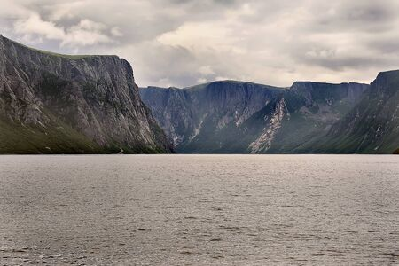 gros morne national park Banque d'images - 132259478