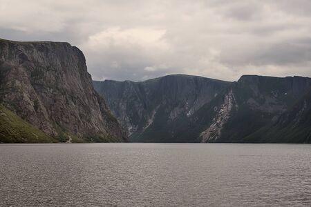 gros morne national park Banque d'images - 132259508