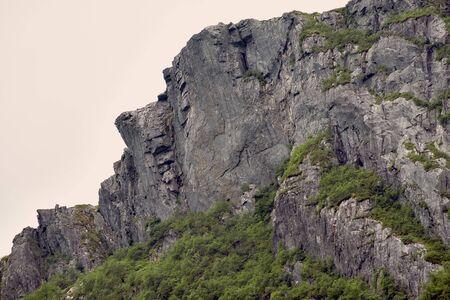 Mountain face