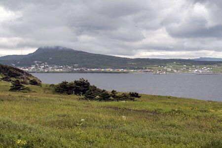 Village in Newfoundland Banque d'images - 133288752