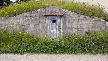 A Newfoundland root cellar