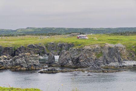 A house on the Newfoundland coast Reklamní fotografie