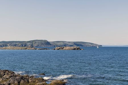A bay on a summer day Reklamní fotografie