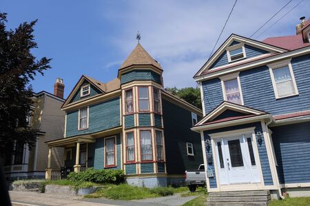 Old wooden houses in St Johns.