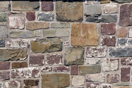 An old stone wall for background