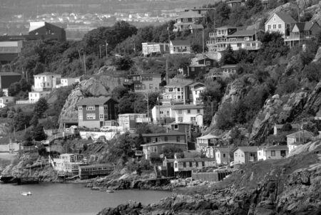 Coastline of St Johns harbour