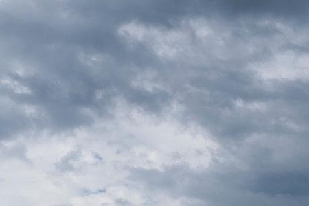 A dramatic dark summer sky Stock Photo