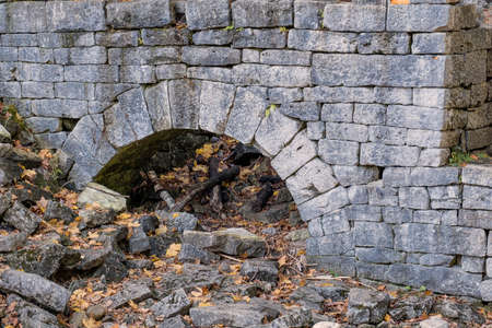 An old brick stone wall Stock Photo