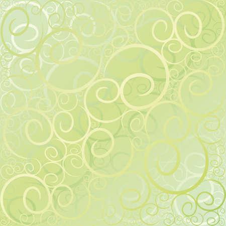 twirl: Torbellino Verde patr�n de fondo