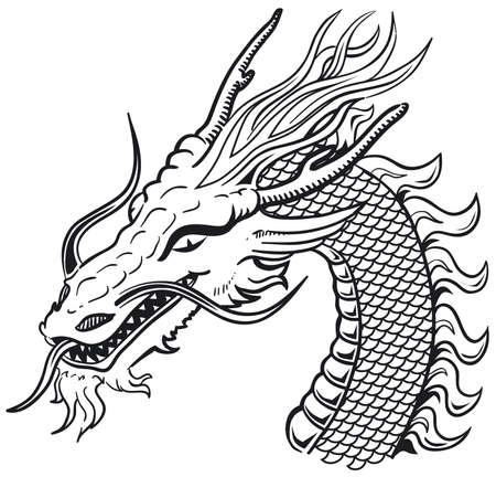 adder: Dragon head