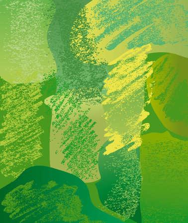 Composition green Vector