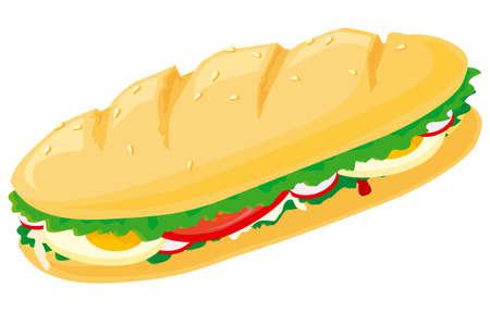 Sandwich Stock Vector - 3146083