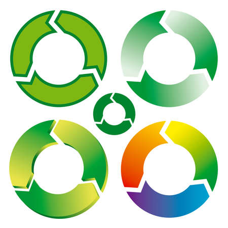 Recycle symbols Stock Vector - 3181600