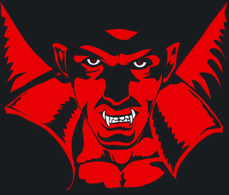 terrifying: Dracula Illustration