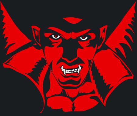 horrifying: Dracula Illustration